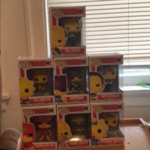 Simpson's funko pop